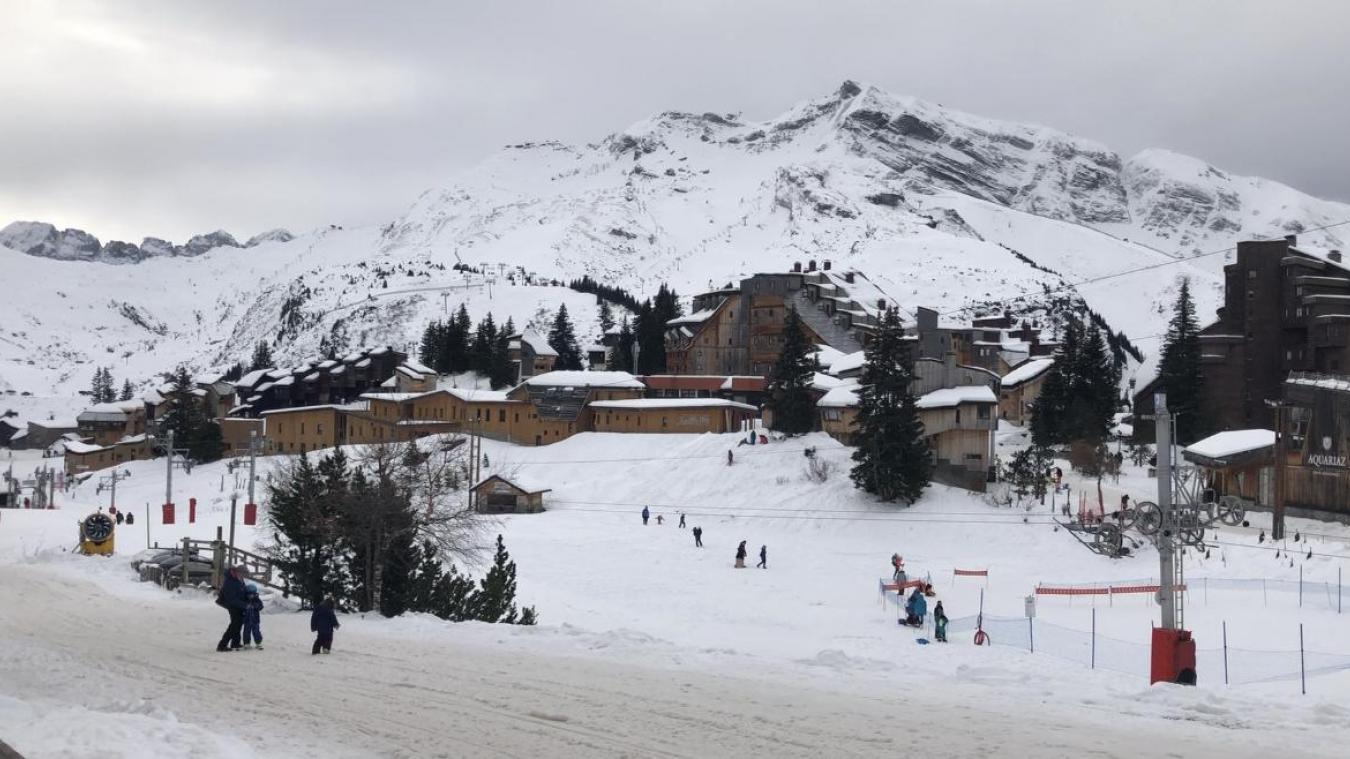 Fausse alerte après une coulée de neige dans la station d'Avoriaz