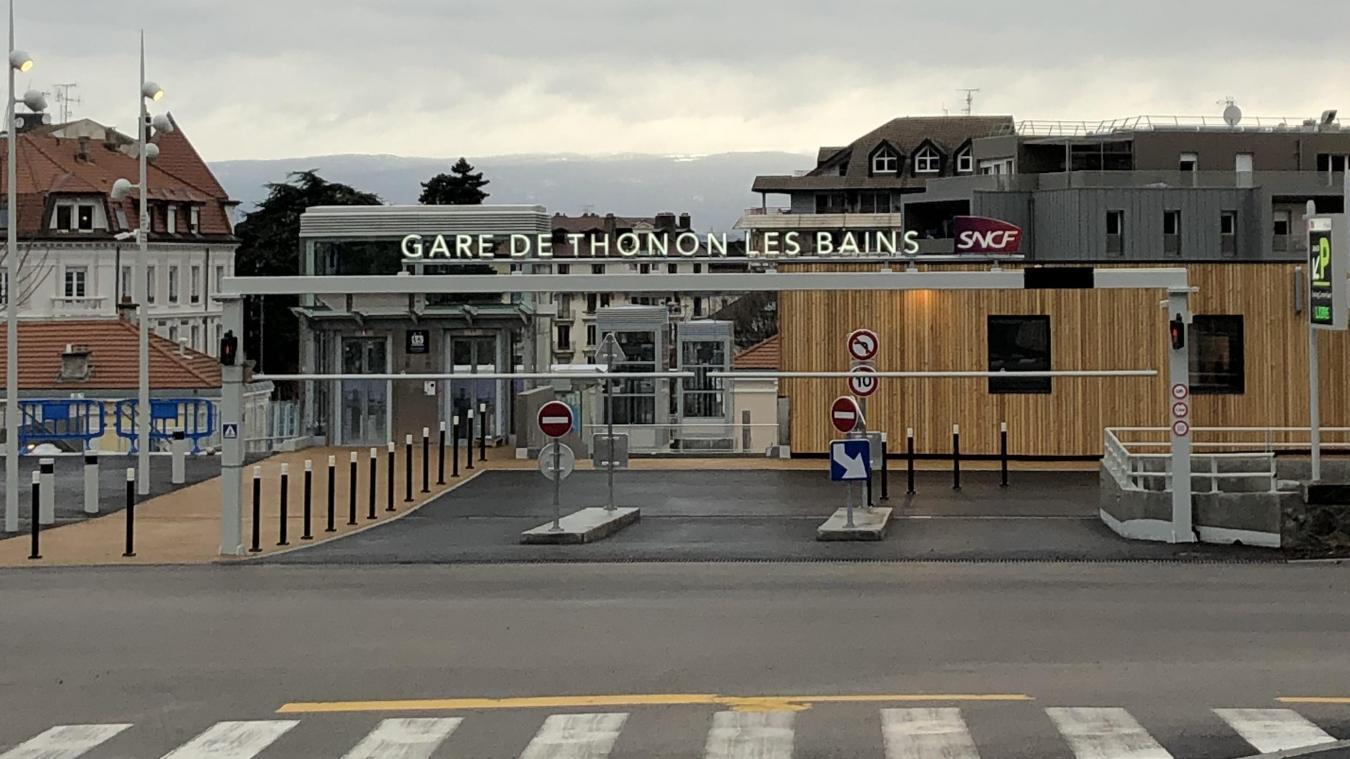 Thonon : le plus grand parking de la ville entre en service