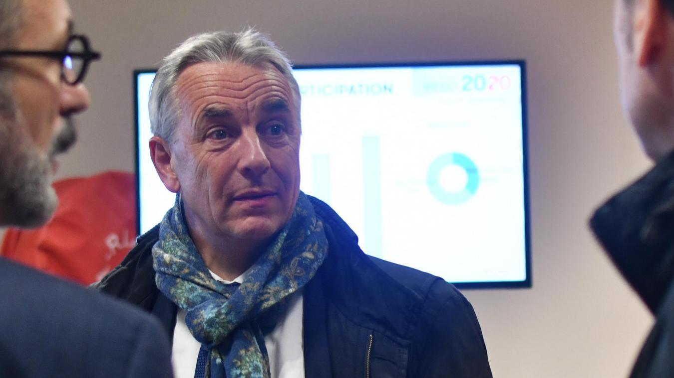 Jean-Luc Rigaut, ici lors du premier tour des élections municipales, a désormais un mois pour faire appel de la décision du tribunal administratif.