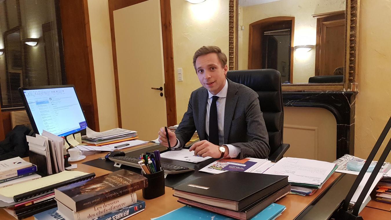 Antoine Valentin un jeune maire très impliqué.
