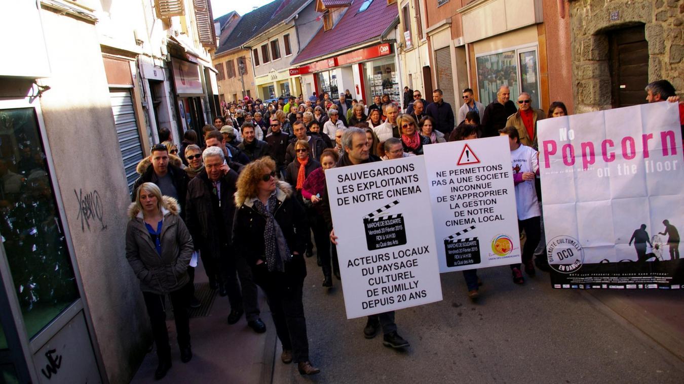 En février 2015, une manifestation de soutien aux gérants du Concorde avait rassemblé plusieurs centaines de Rumilliens.