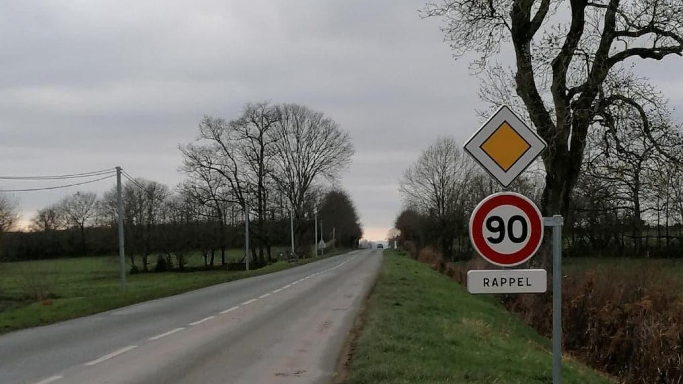 Quatre départements, dont la Creuse, ont décidé de repasser la totalité de leur réseau secondaire à 90 km/h.