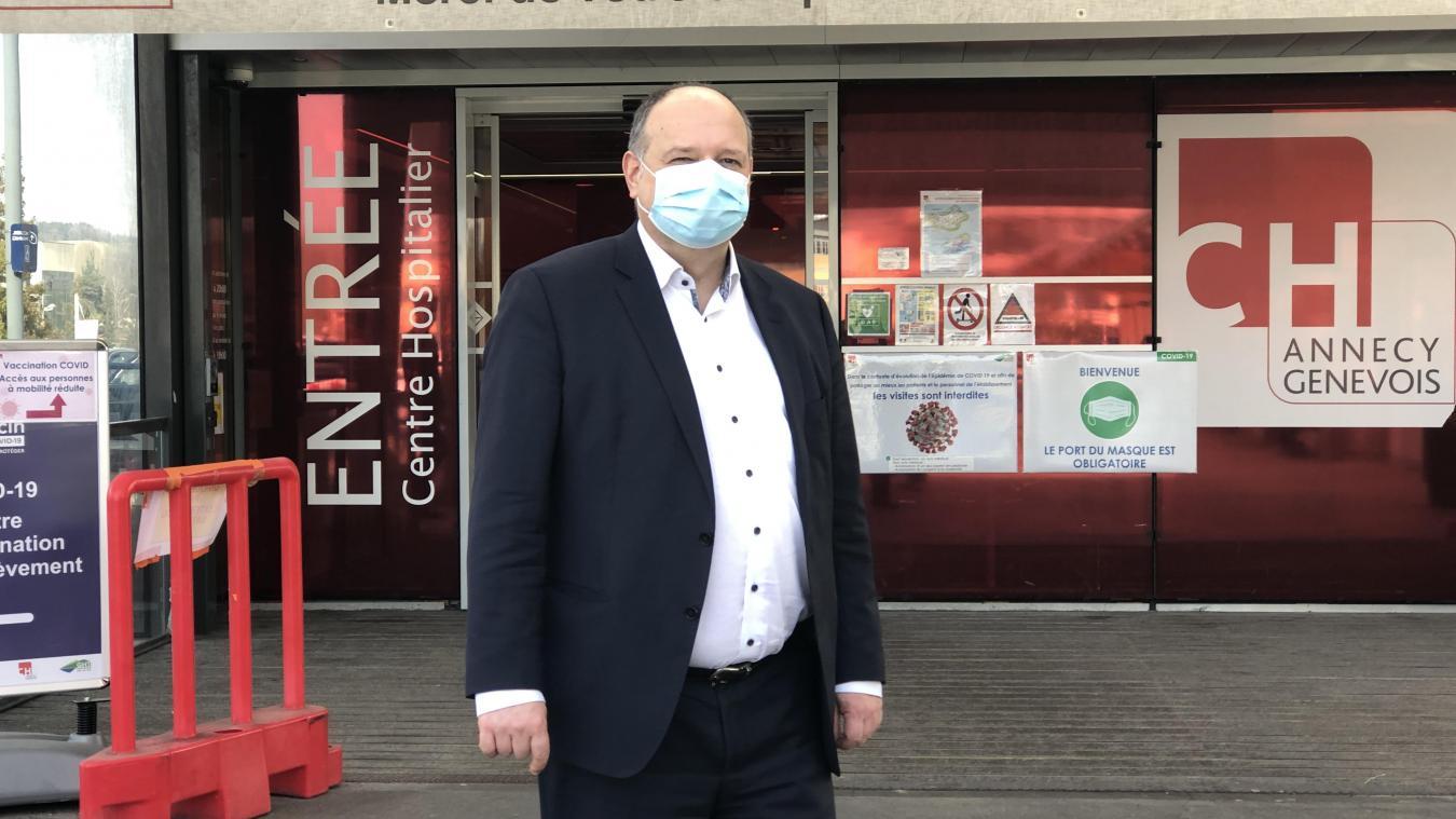 Les services hospitaliers sont aujourd'hui confrontés à « une phase chronique du Covid », selon le directeur du Change, Vincent Delivet.