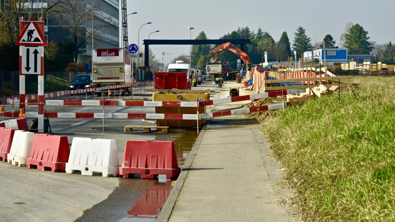 Le dernier opposant suisse à l'extension de la ligne 15 du tram, ayant retiré son recours auprès du Tribunal administratif fédéral (TAF), l'autorisation de construire a été validée en décembre dernier. © DRK
