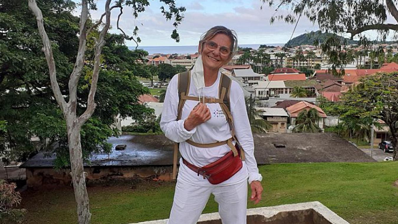 Laurence Langely a participé à la campagne de dépistage du Covid-19 dans les bidonvilles guyanais pendant l'été 2020.