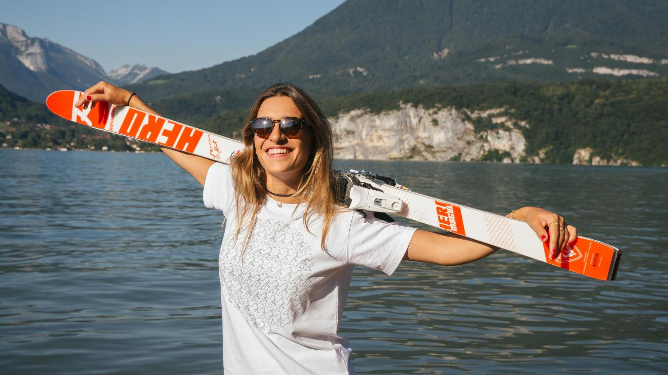 La skieuse a remporté le dernier titre majeur qui manquait à sa collection.