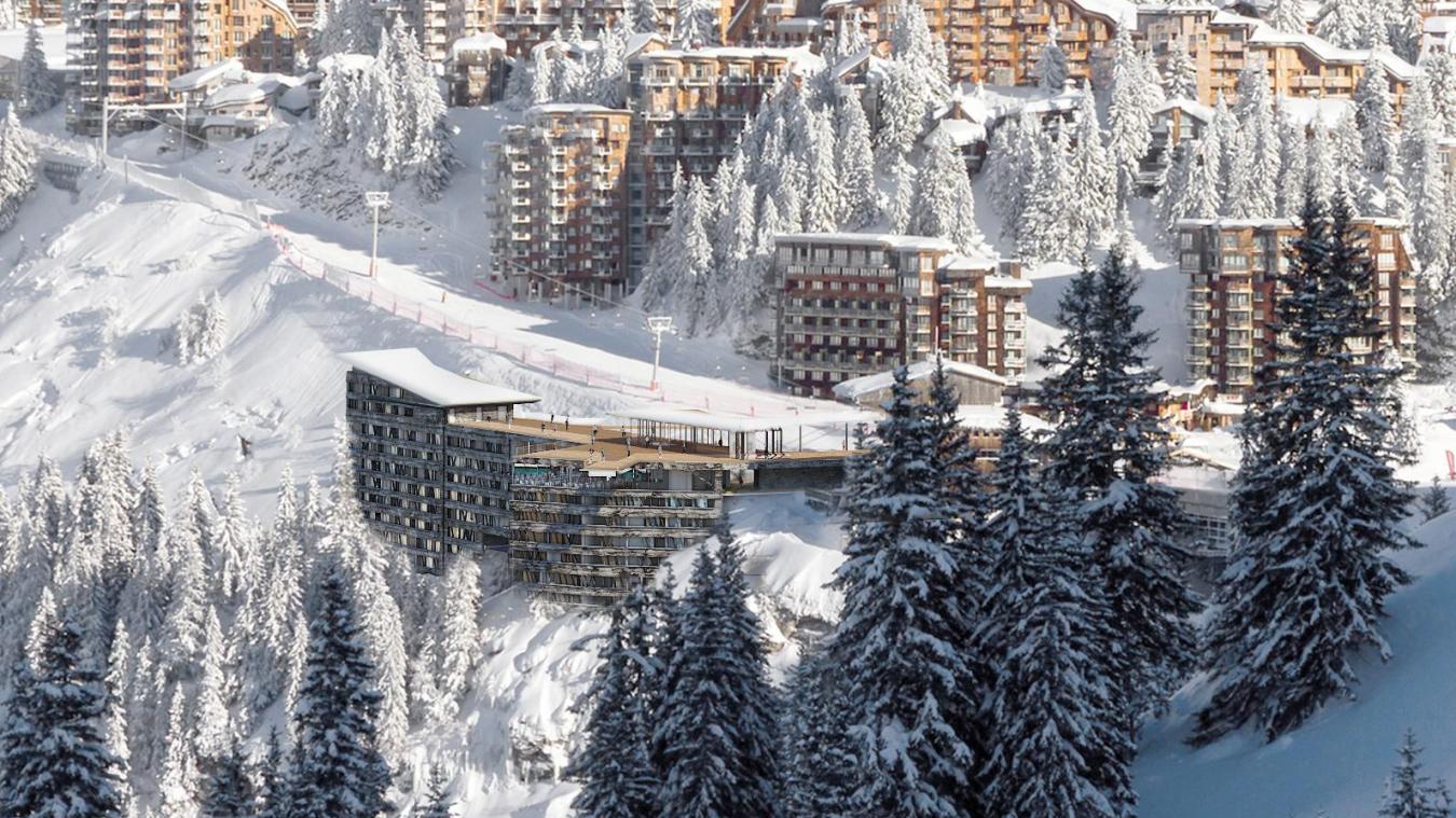 L'hôtel du Téléphérik aura une capacité de 150 chambres pour environ 550 lits.