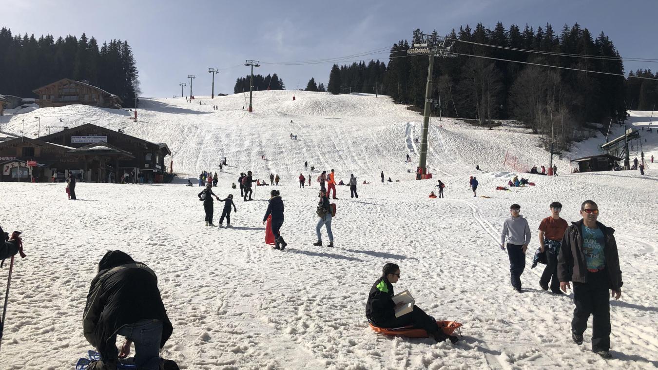 Sans le ski alpin, la station du Bettex (Saint-Gervais-les-Bains) est méconnaissable.