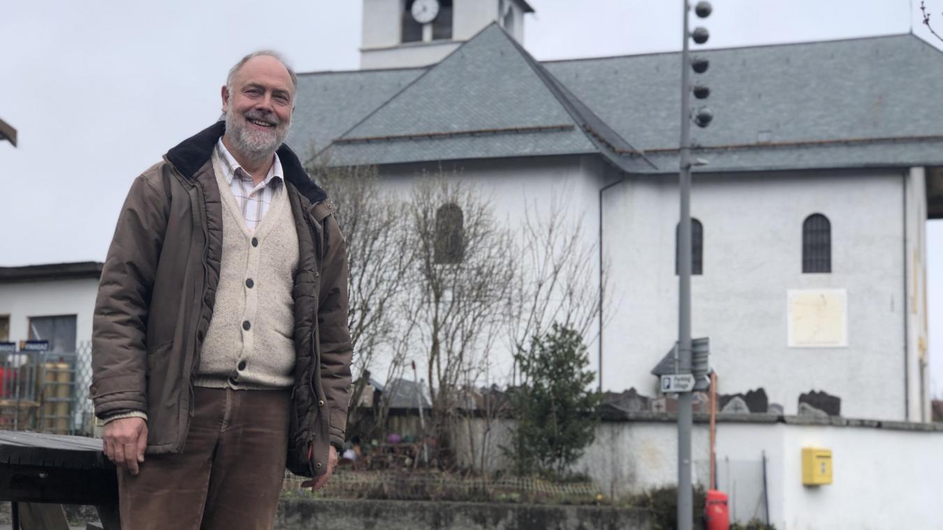 Fabrice Devery est président de l'association «Festival Baroque au Pays du Mont-Blanc» depuis trois ans.