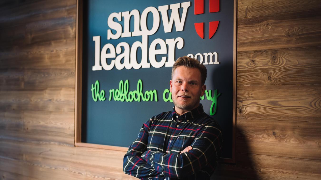 Depuis 2008, Thomas Rouault est à la tête de Snowleader, une société qui a réalisé 35 millions d'euros de chiffre d'affaires en 2019. Photo: M. Daviet