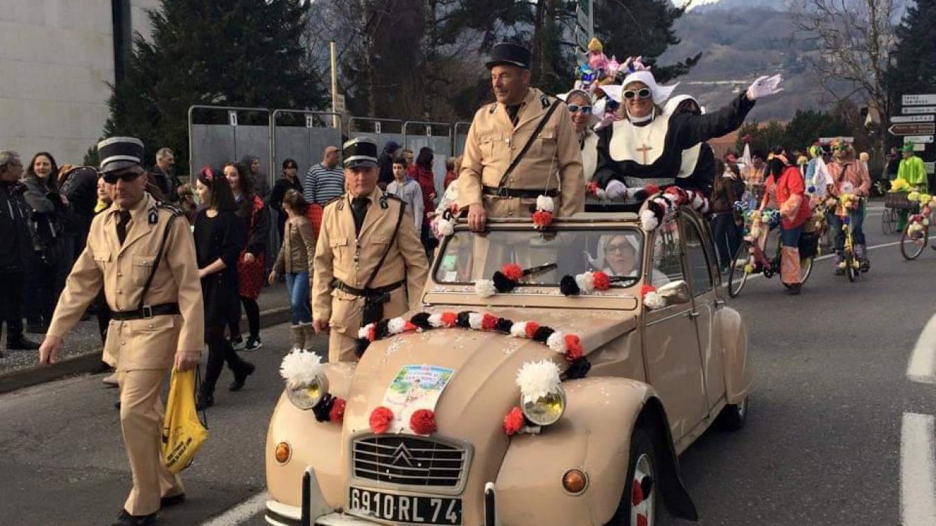 En 2015, Raymond Cartier était déguisé en Louis de Funès, dans le Gendarme à Saint-Tropez.