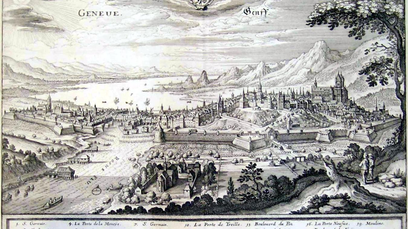 Dès le XIIIe siècle, les ducs de Savoie ont eu l'ambition de faire de Genève, ville située au coeur de leur vaste territoire, la capitale de leurs États.