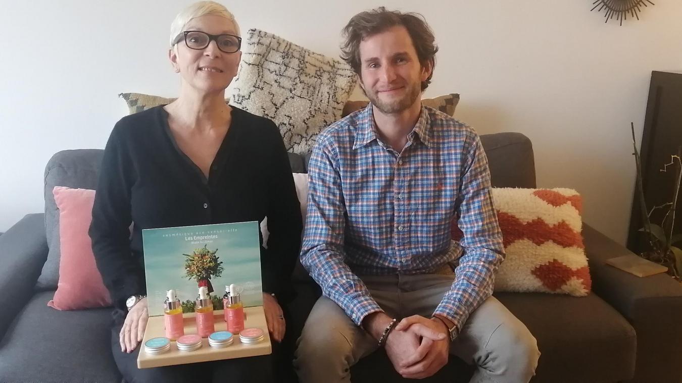 Claire Teigner et Hugo Duthu, les fondateurs de Les Empreintes made in Léman.
