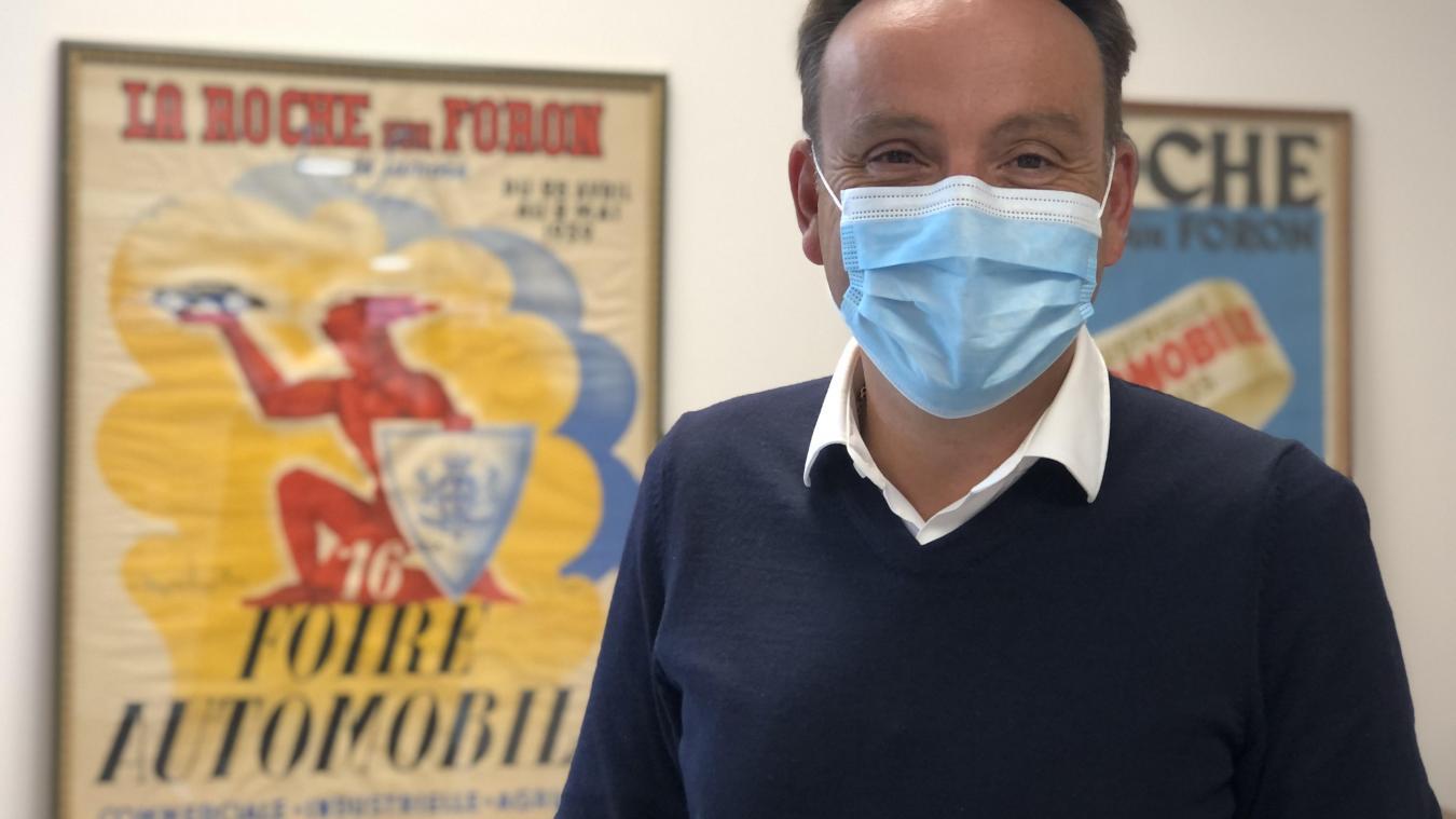 Philippe Charrier, président de Rochexpo, reste positif malgré la terrible période que traverse le secteur de l'événementiel.