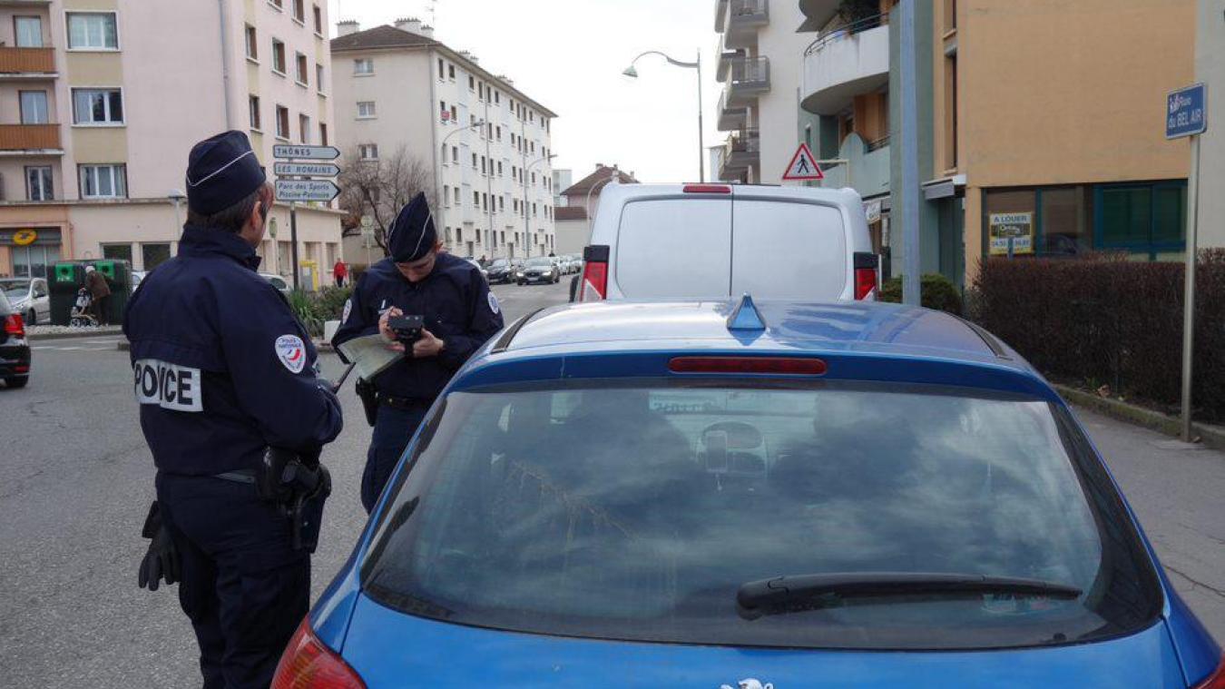 La police effectuait une patrouille habituelle juste avant l'interpellation.