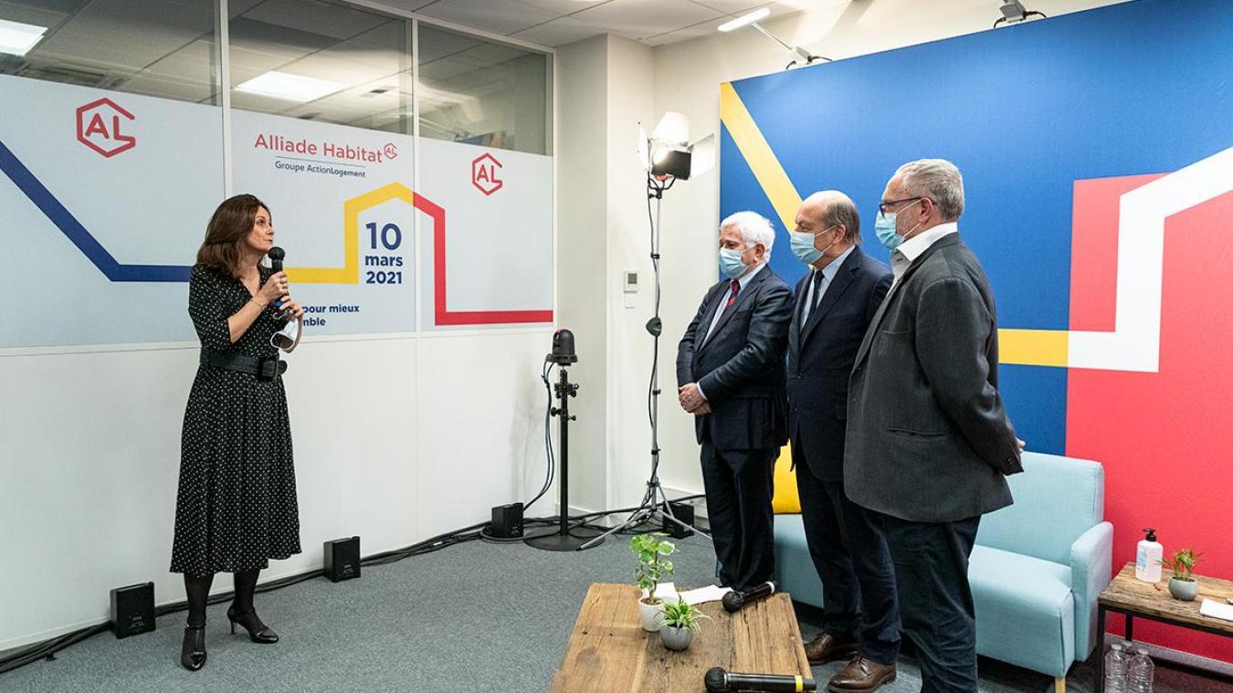 L'agence a été inaugurée le 10 mars en présence d'élus locaux.