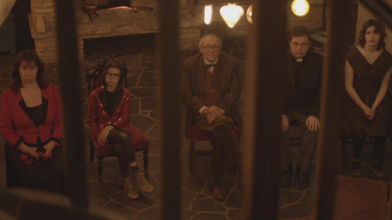 Les personnages du film.