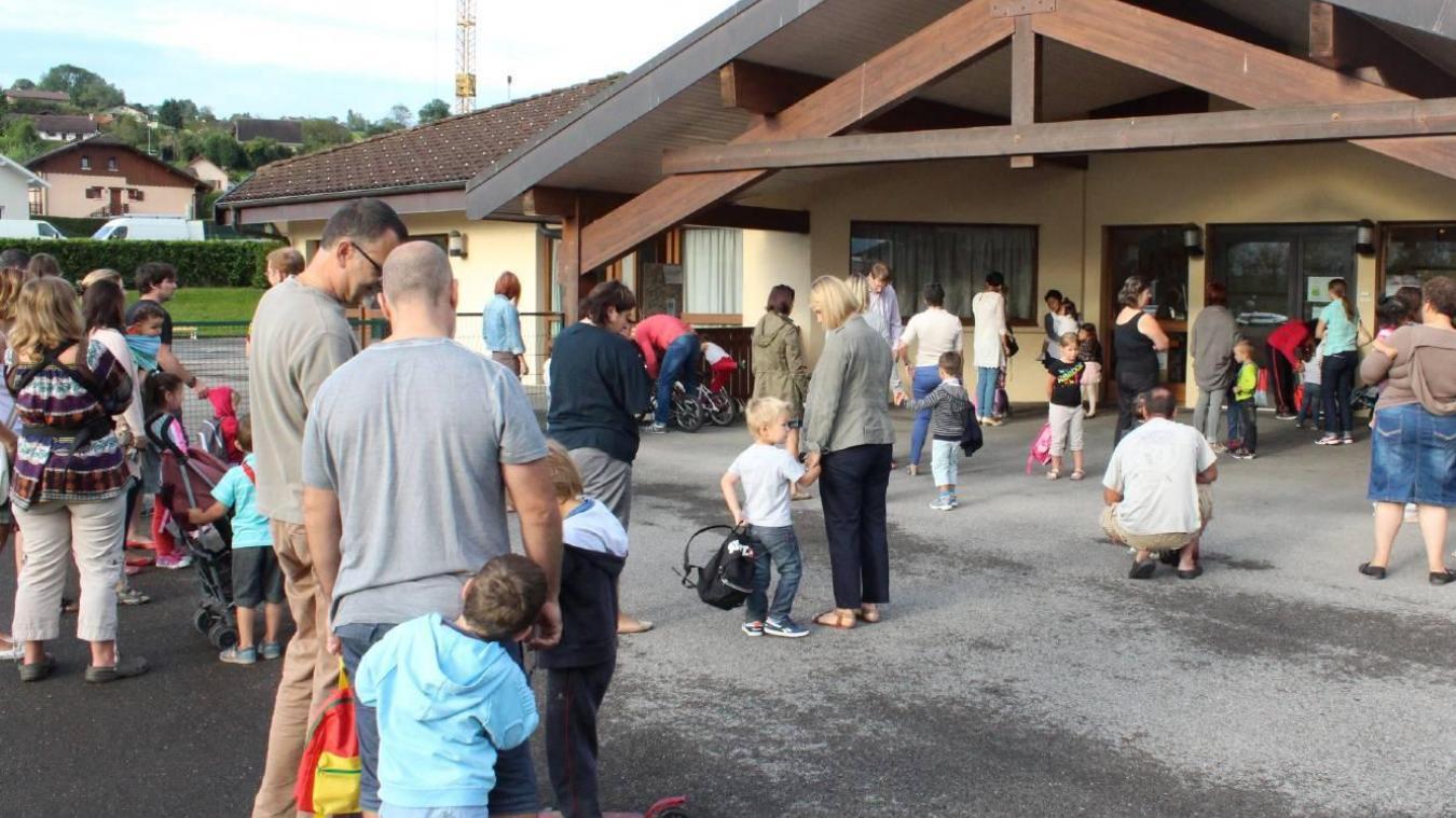 À compter de ce lundi 29 mars, les services périscolaires de l'école maternelle de l'école maternelle Cadoret ferment leurs portes pour une durée indéterminée (Photo d'archives).