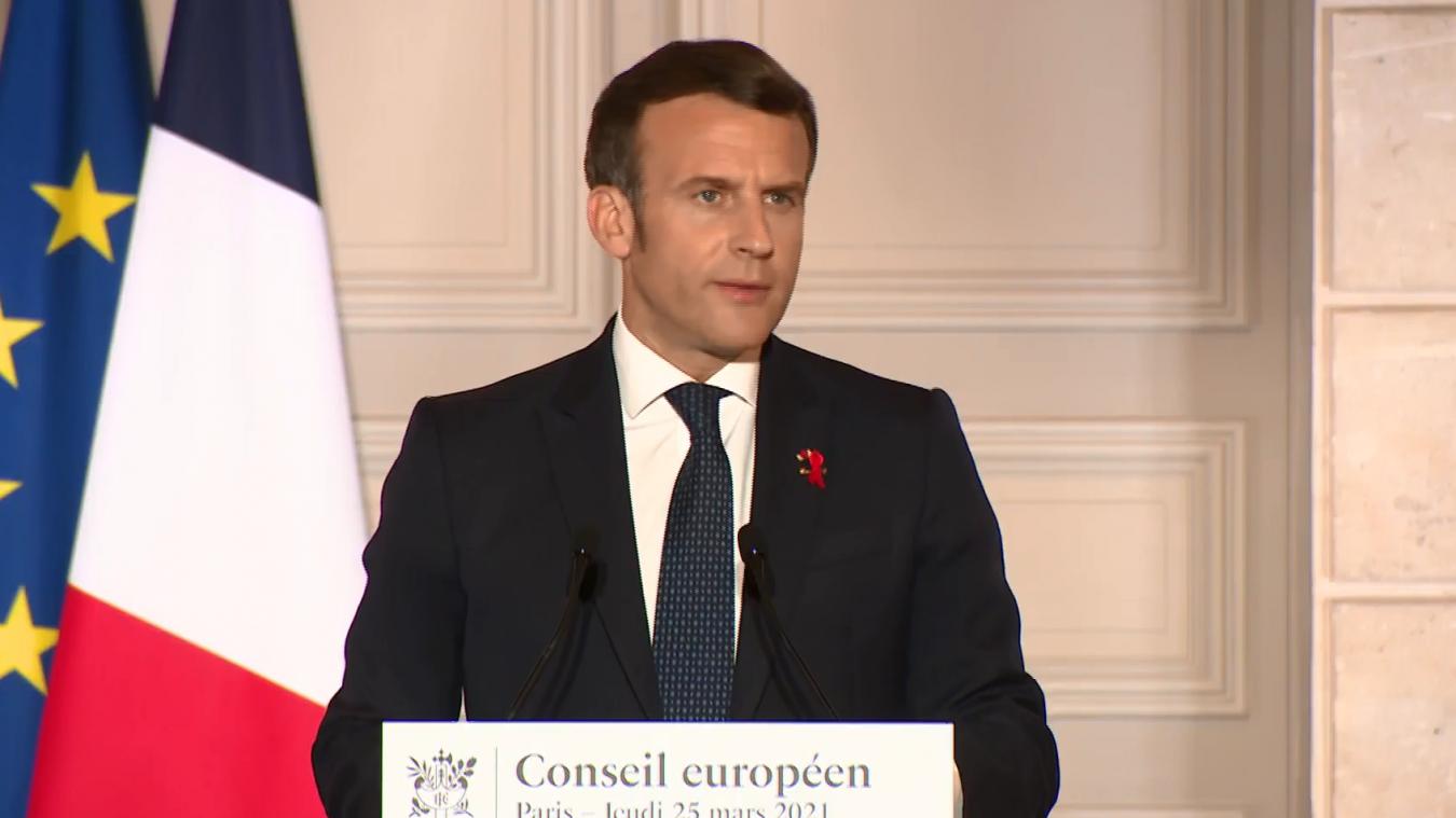 Le président Macron pourrait s'adresser aux Français mercredi 31 mars.