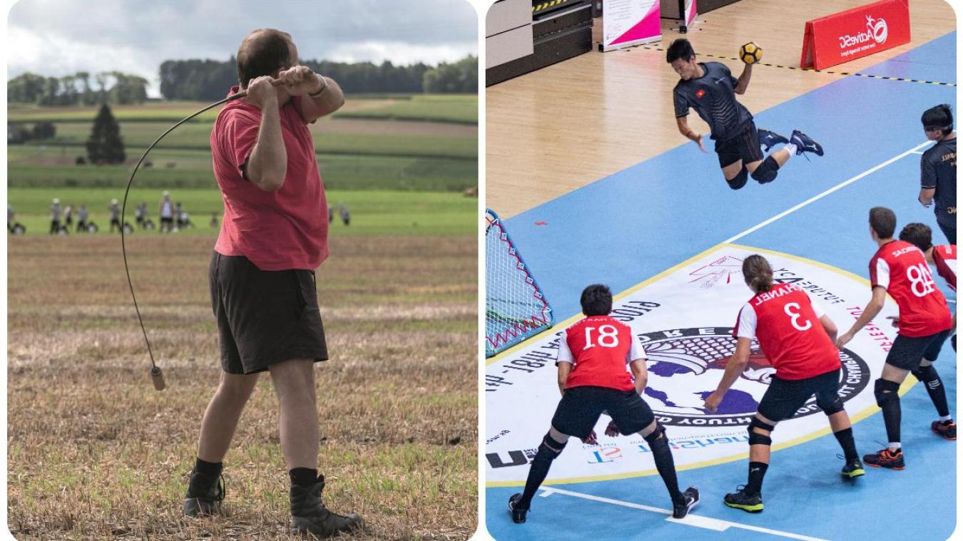 Hornuss, tchoukball... Découvrez les sports suisses.