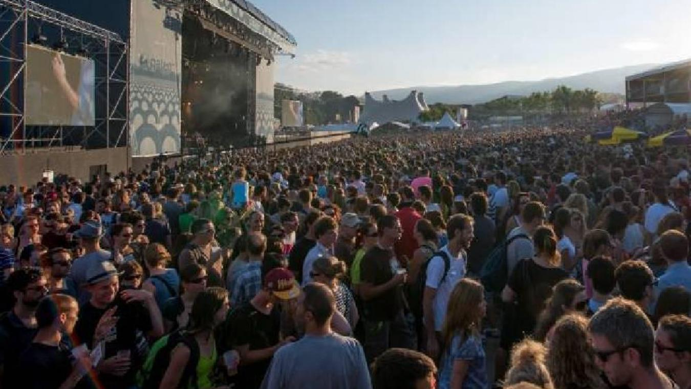 Le Paléo festival reviendra en 2022.