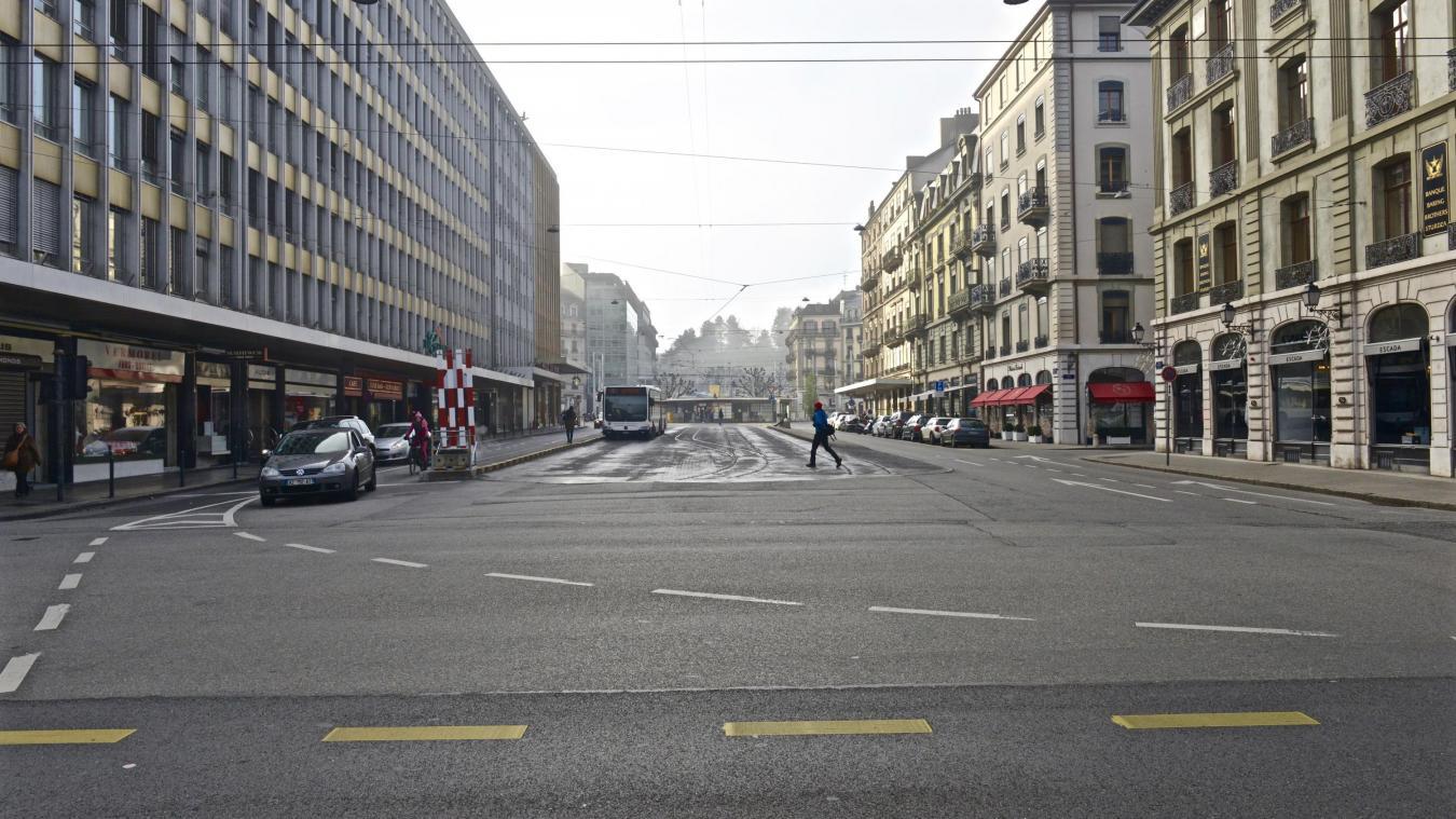 Pour aménager la zone Clé-de-Rive à Genève, il avait été budgété un crédit de plus de 34 millions de francs suisses mais finalement le parking souterrain ne séduit plus. © DRK