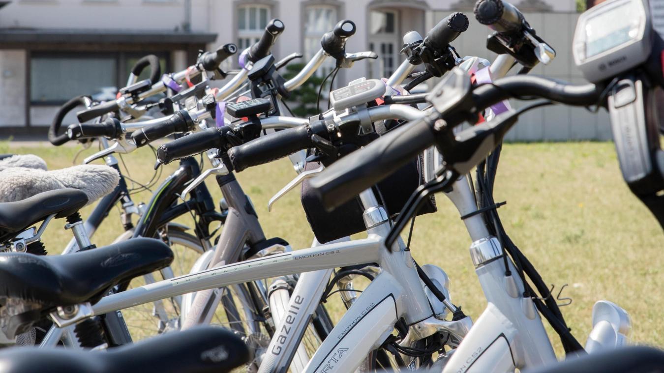 Le parc comprendra 40 vélos électriques.
