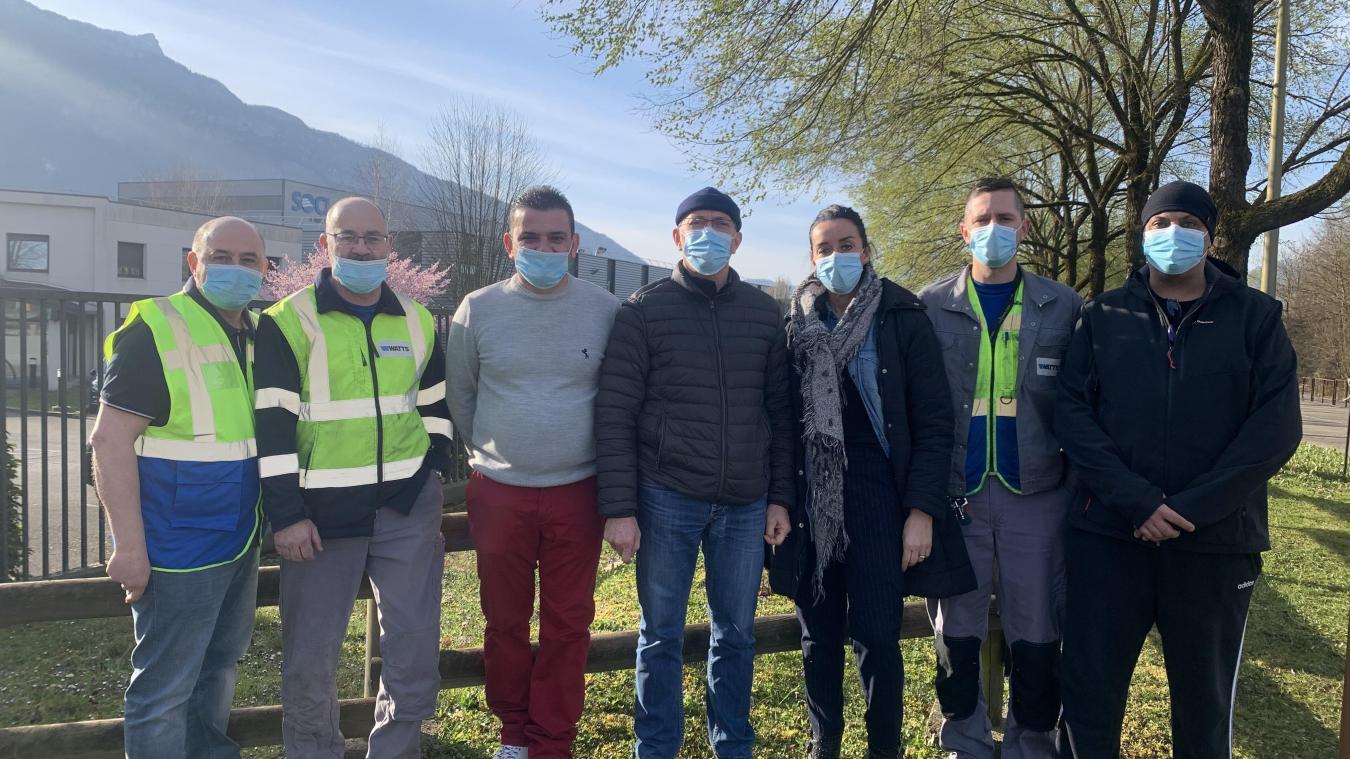 Après un jour de grève lundi 22 mars les employés ont repris leur travail à l'usine.