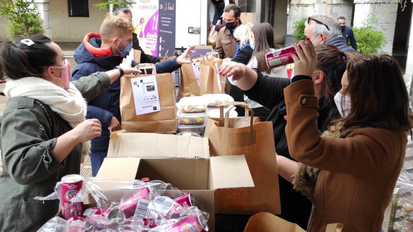 Chambéry : des chefs se mobilisent pour offrir des repas aux étudiants