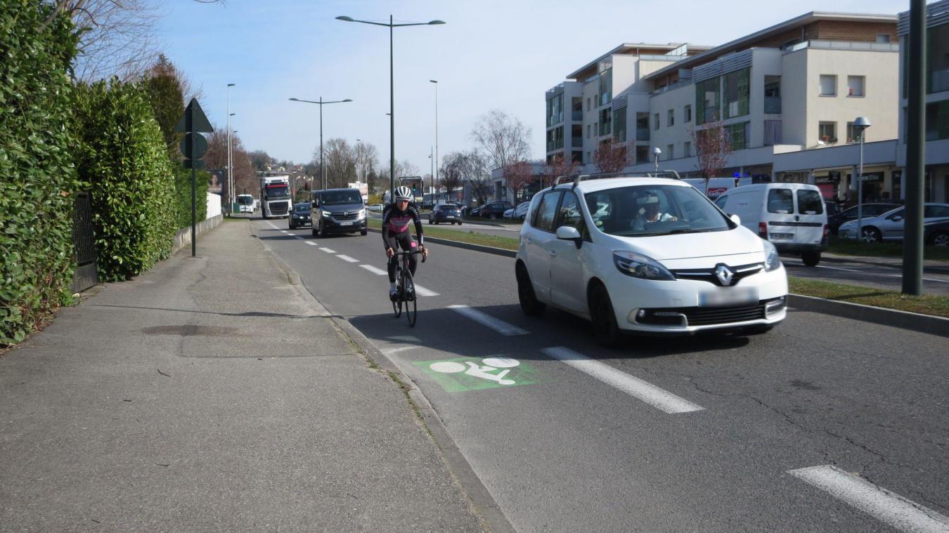 Florian Maître, vice-président de Grand Lac en charge des mobilités, impulse le renouvellement du Schéma directeur cyclable avec ses équipes.