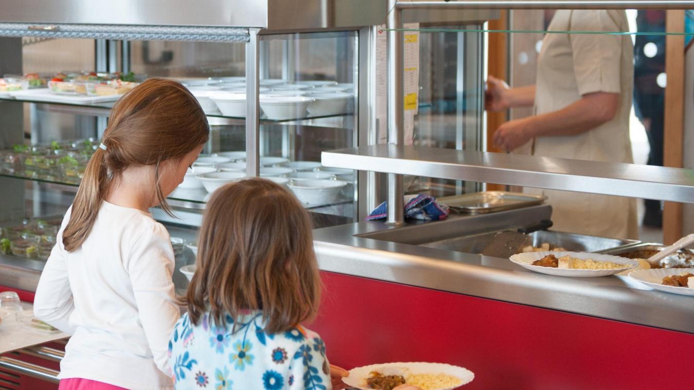 L'année prochaine, les menus sans viande pourraient être proposés deux fois par semaine aux élèves annéciens. Photo d'illustration.