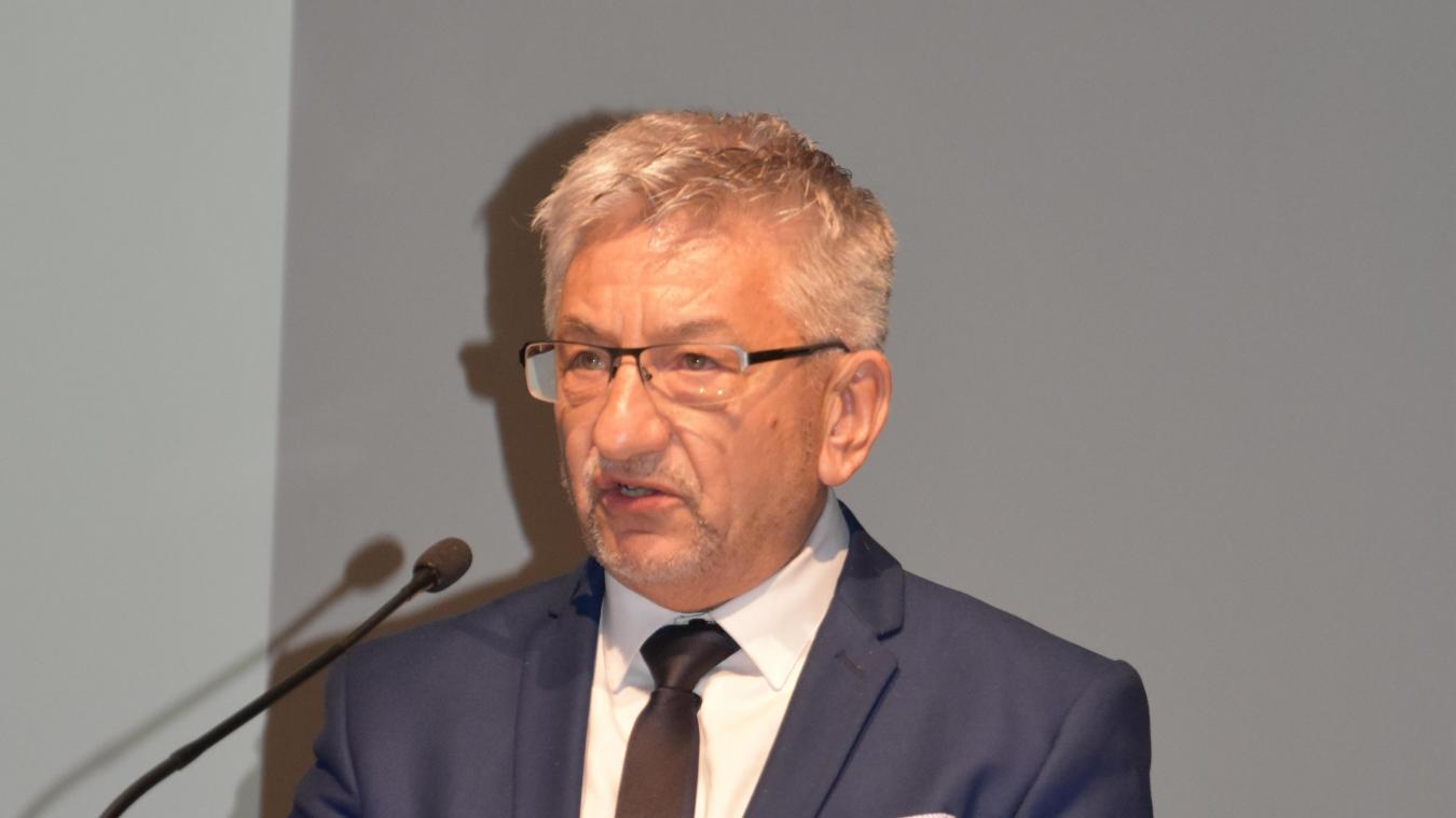 Michel Charrat est président du Groupement transfrontelier européen depuis 1998.