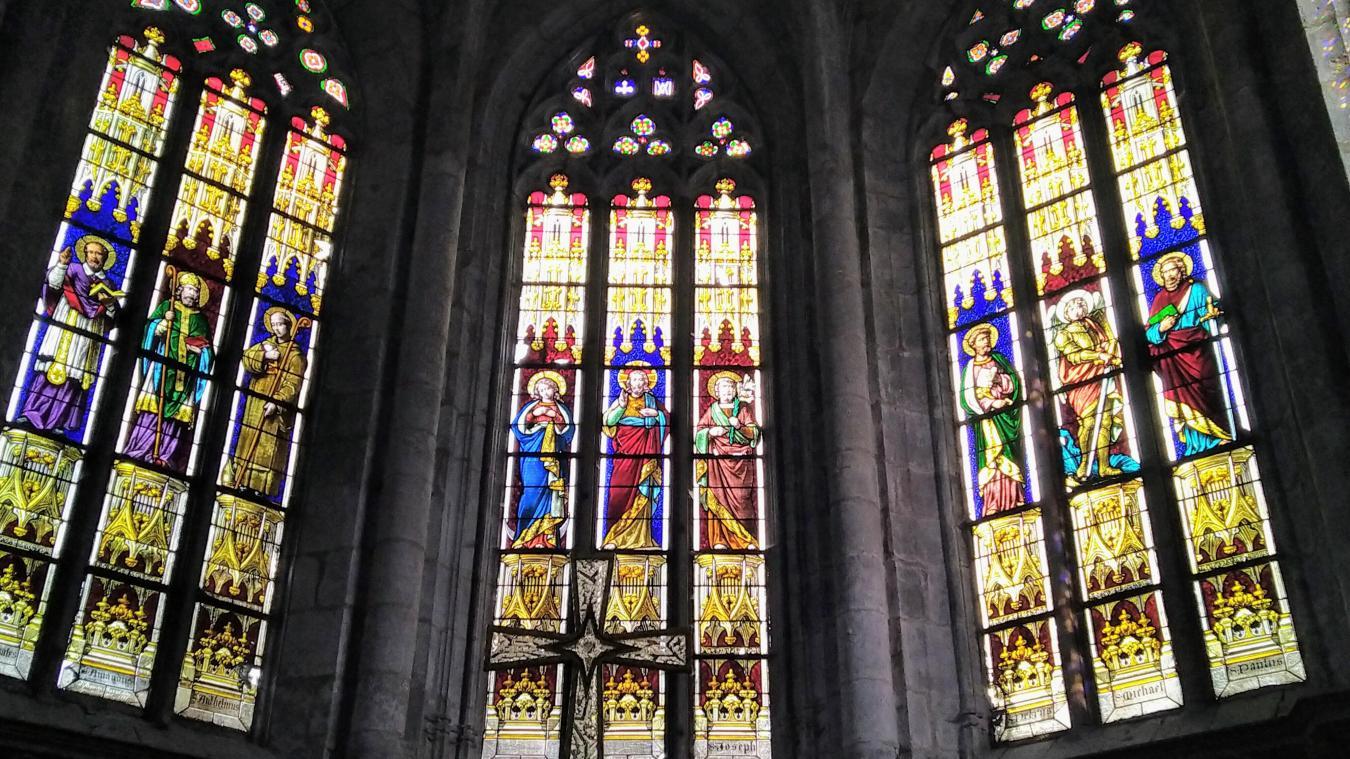 L'étude de restauration des vitraux de l'église de Nantua pourra être financée en partie par le Département.