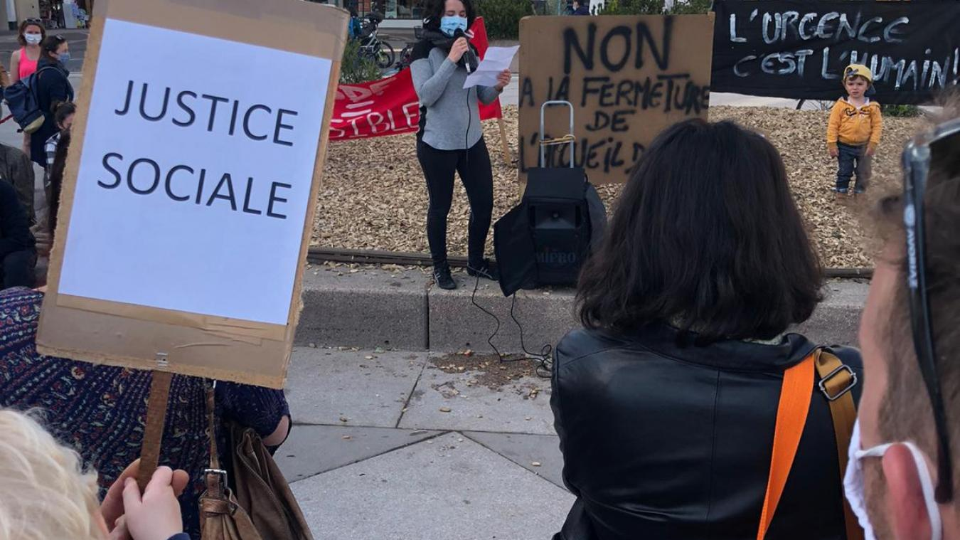 Forte mobilisation pour protester contre la fermeture du seul accueil pour sans-abris du Chablais