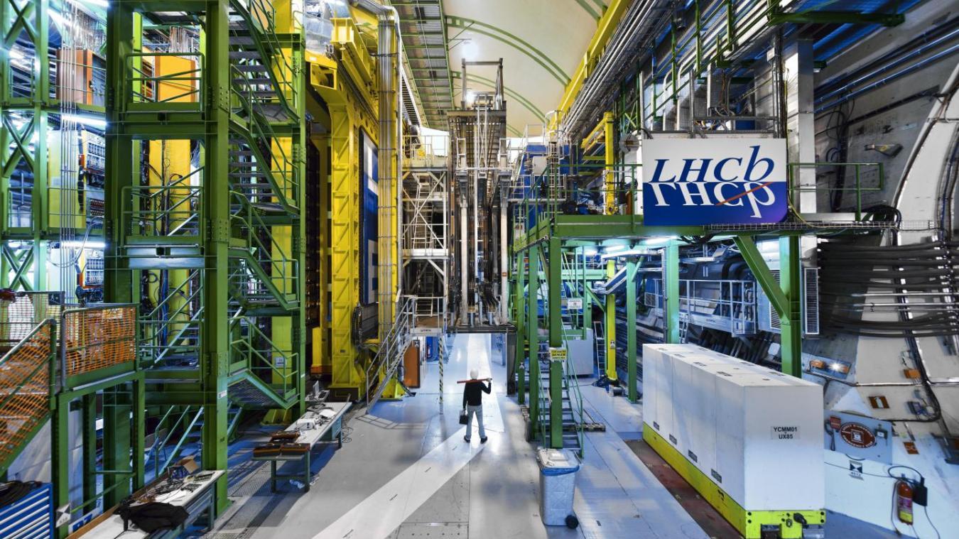L'expérience LHCb est l'une des quatre grandes expériences du Grand collisionneur de hadrons du Cern. (Crédit photo : Cern)