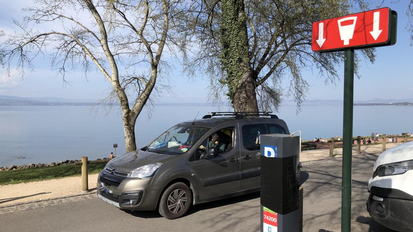 Dès le 1er mai, les parkings des Recorts et du Champ de l'Eau (Corzent) redeviendront payants.