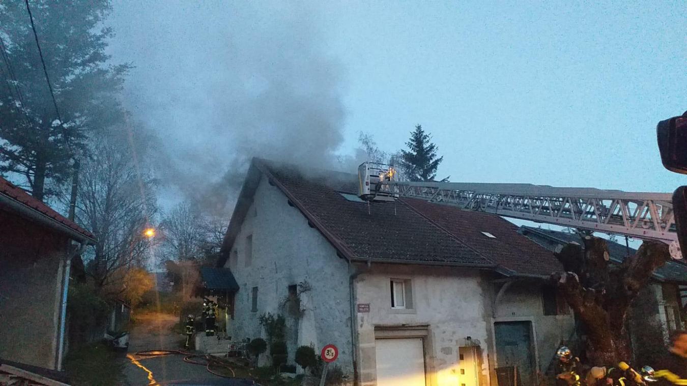 Les pompiers ont limité les dégâts.