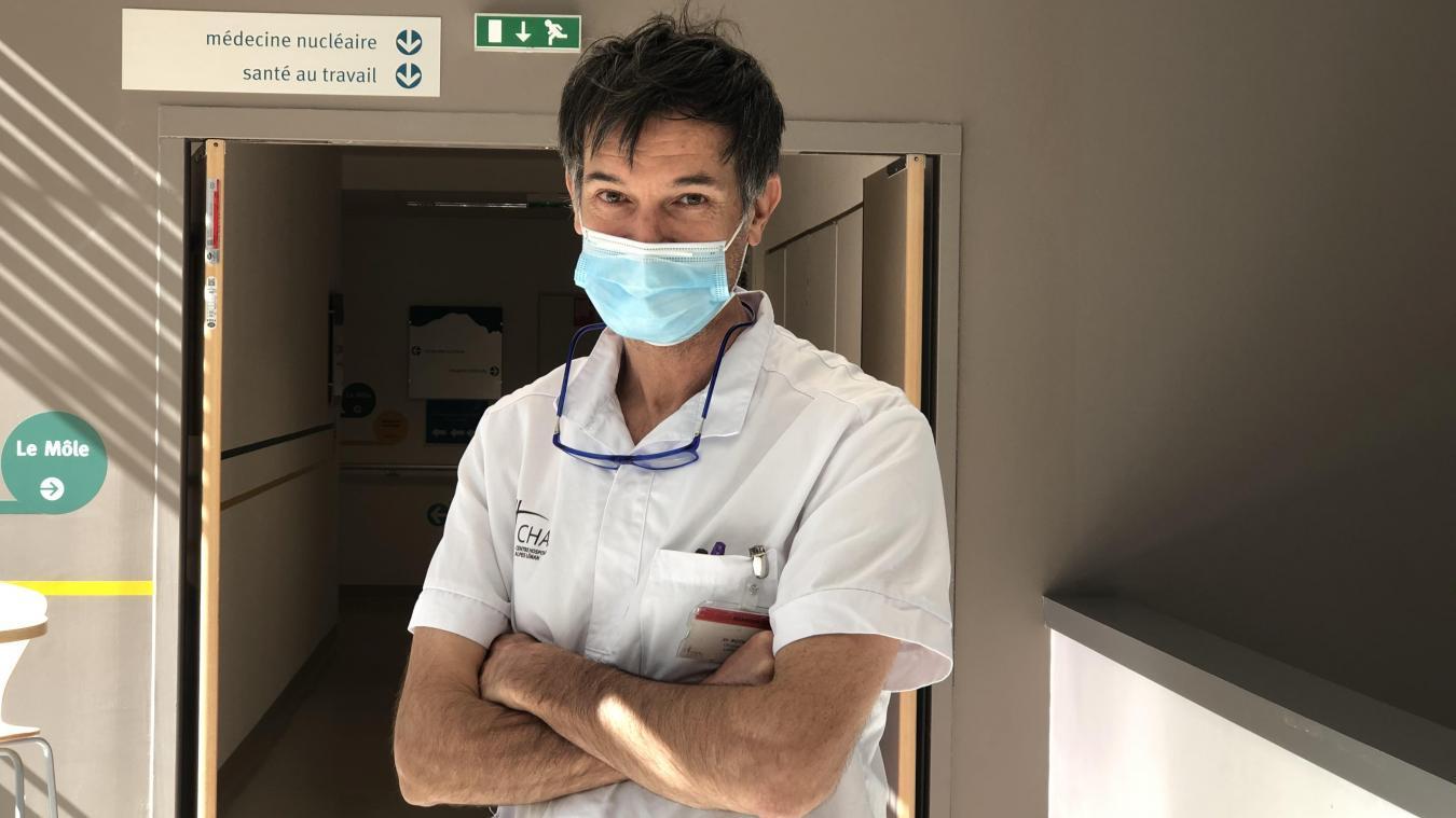 Le docteur Christian Roth, responsable du pôle Soins critiques au CHAL.
