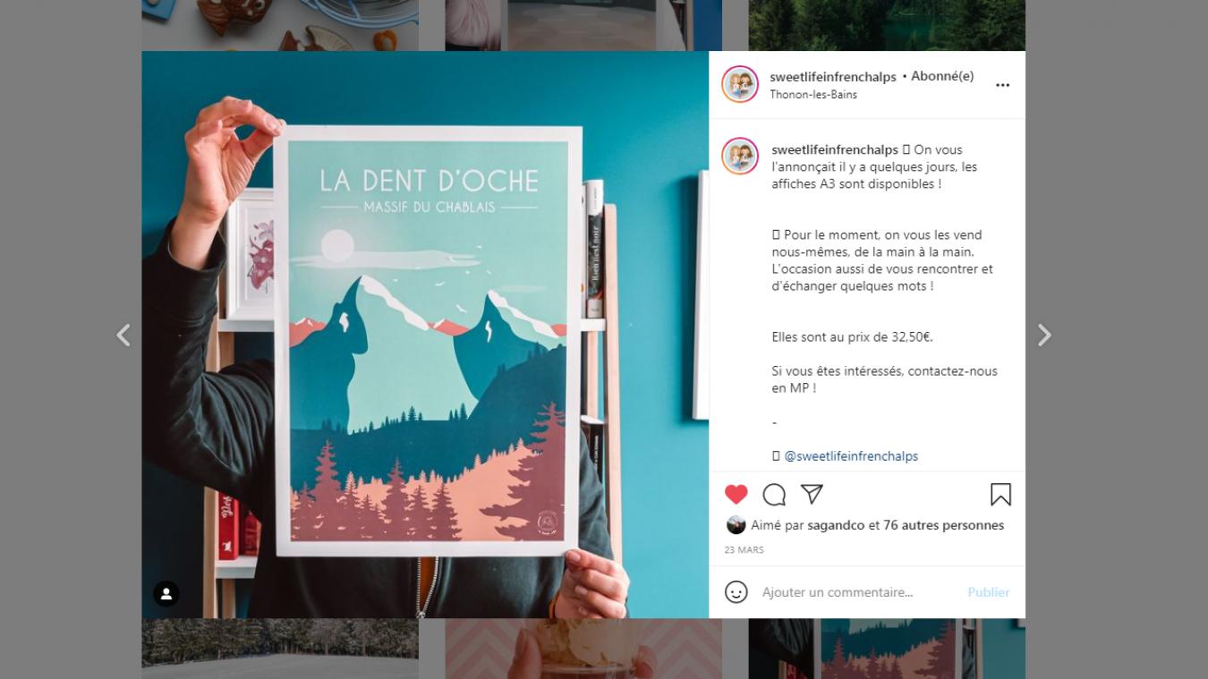 Les affiches de Sweet life in French Alps amènent le Chablais dans votre salon.