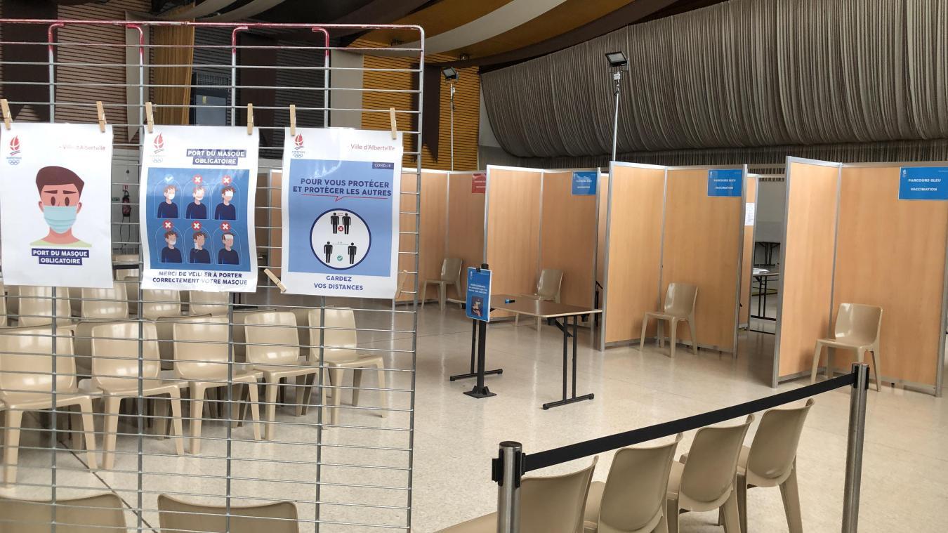 Albertville: visite au cœur du nouveau centre de vaccination