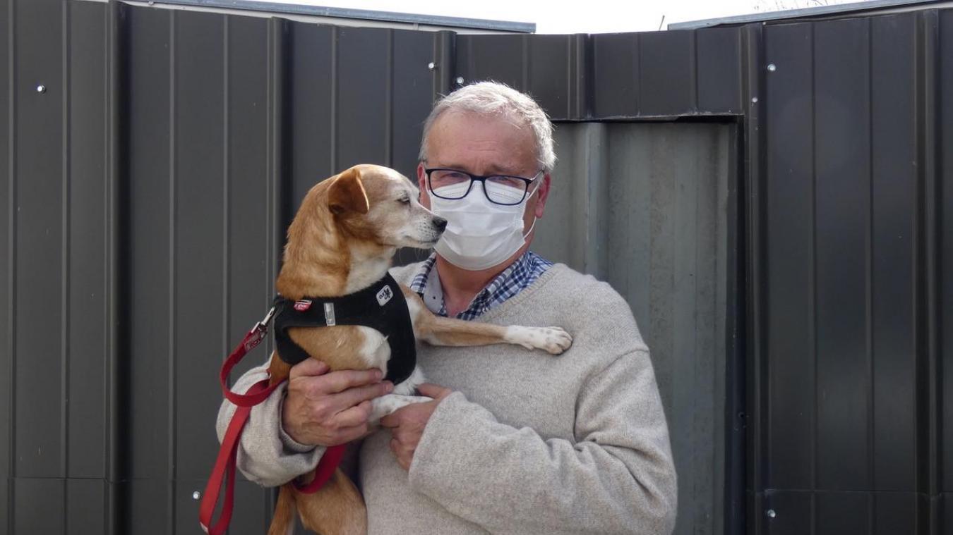 Jean-Luc Rober est enquêteur à la SPA depuis 17 ans.