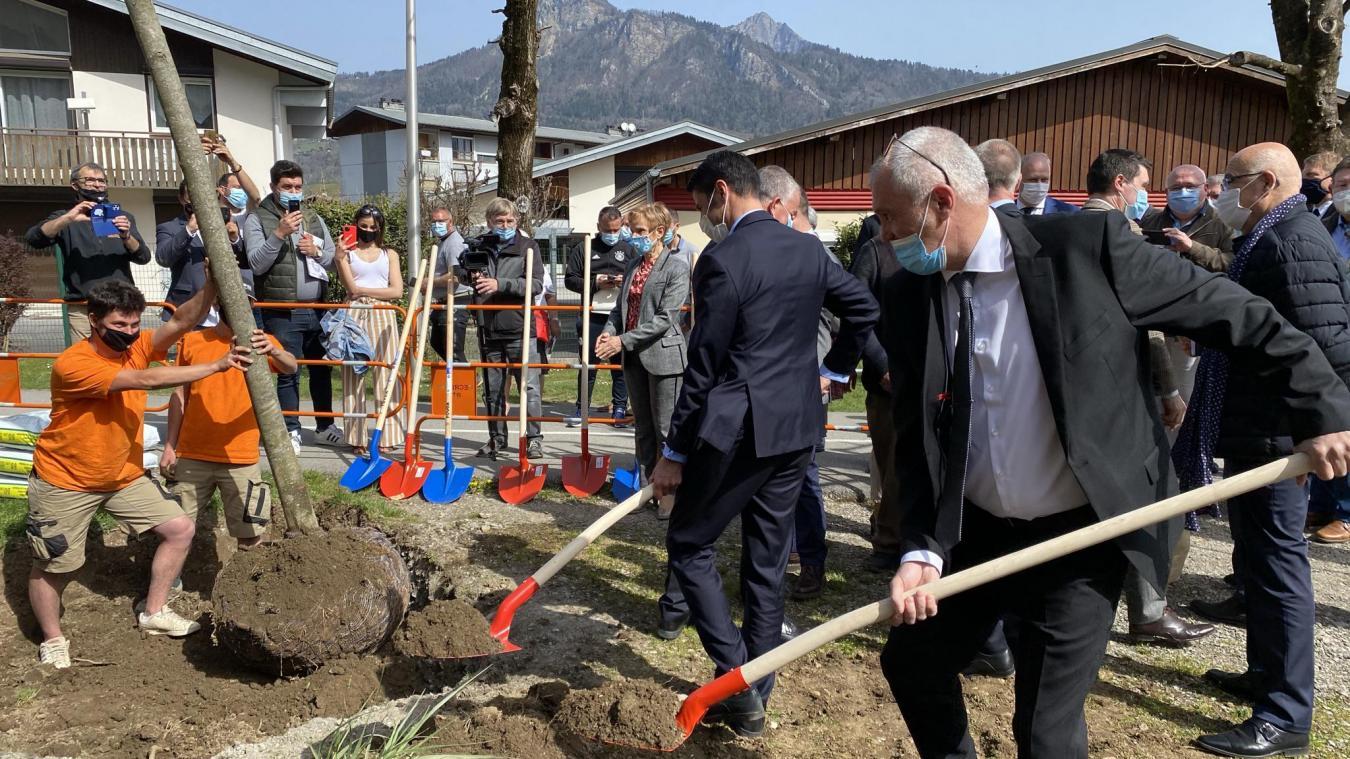 Scionzier: un chantier historique pour transformer le quartier du Crozet en profondeur