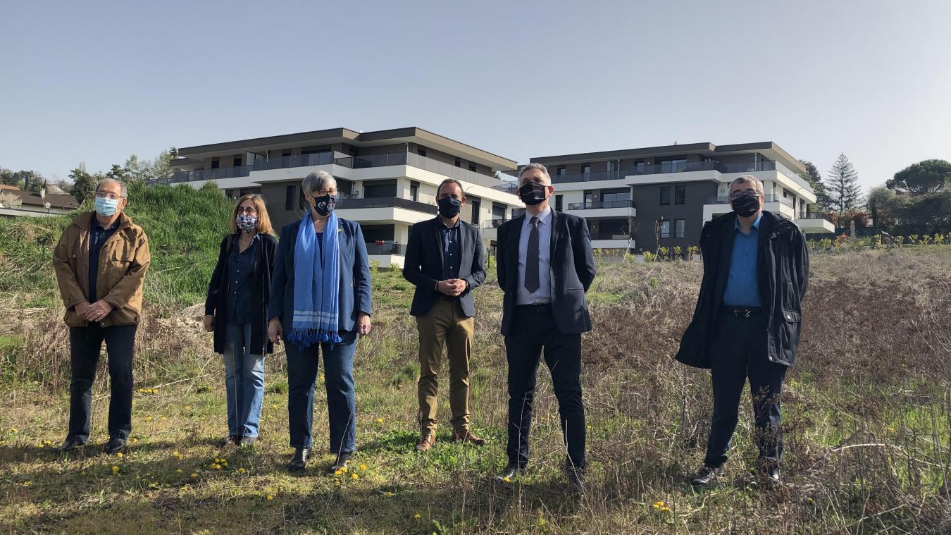 Le programme est composé de 39 appartements répartis sur 3 bâtiments collectifs et de 5 villas individuelles, dont 30 sont commercialisé en bail réel solidaire. La livraison est prévue pour 2023.