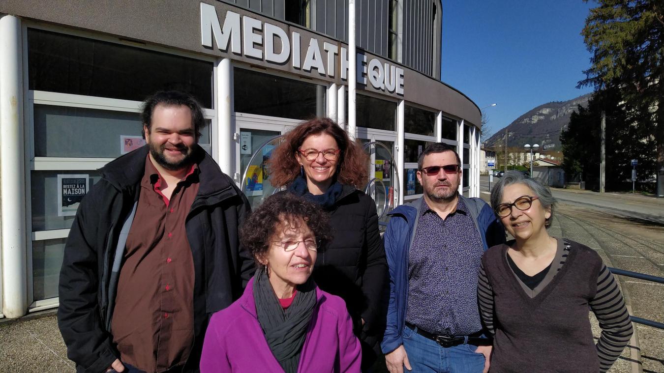 Les équipes du cinéma, de l'Espace Malraux et de la médiathèque.