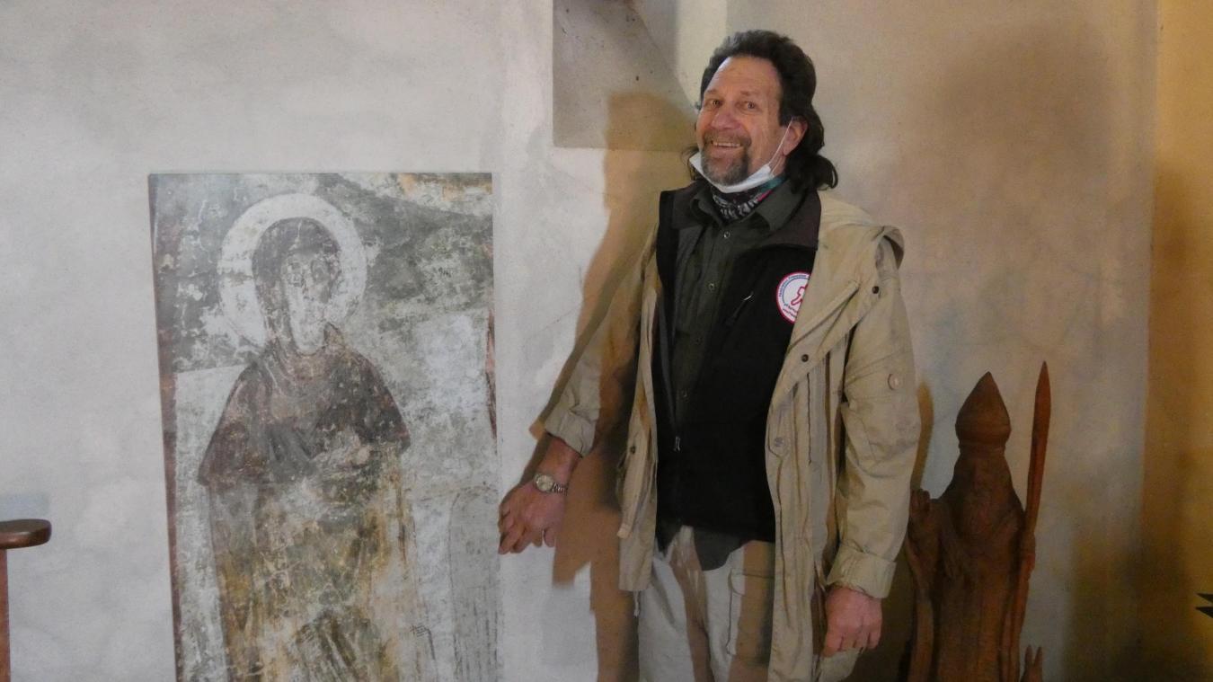La fresque des Châteaux des Allinges, un patrimoine national unique