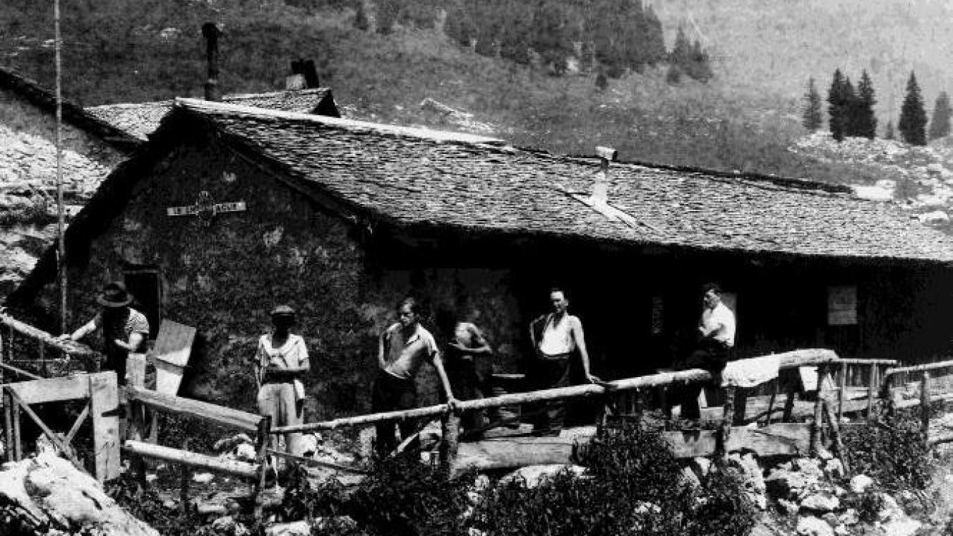 Acquis dès ses débuts, le refuge d'Ubine est un élément fondateur des Amis de la nature.