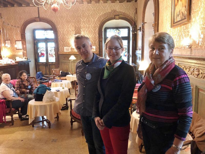 Le château de Coudrée participe pour la première fois à l'heure solidaire initiée par Habitat et Humanisme.