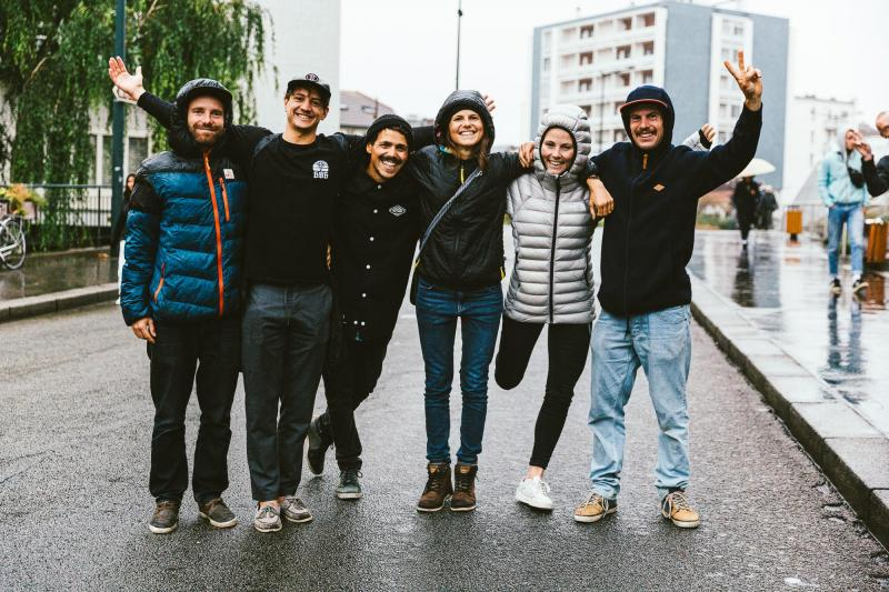 Les ambassadeurs de l'association humanitaire Riders for Refugees.
