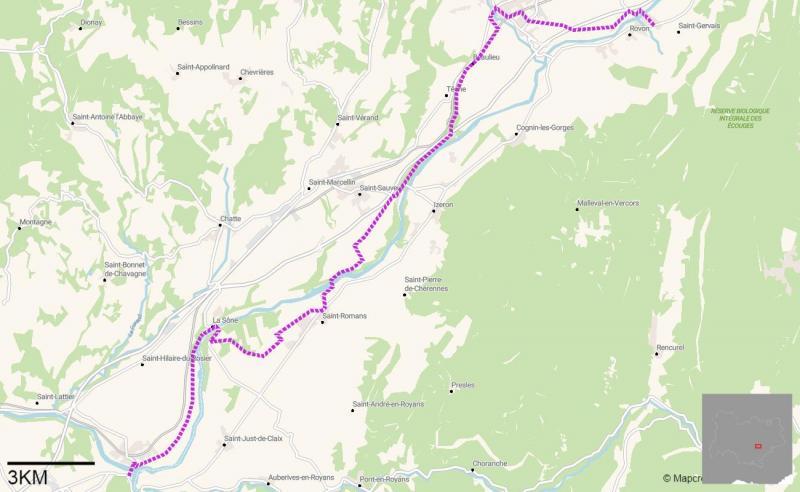 Entre Vignes Et Lac Sur La Velo Route V63 Le Messager