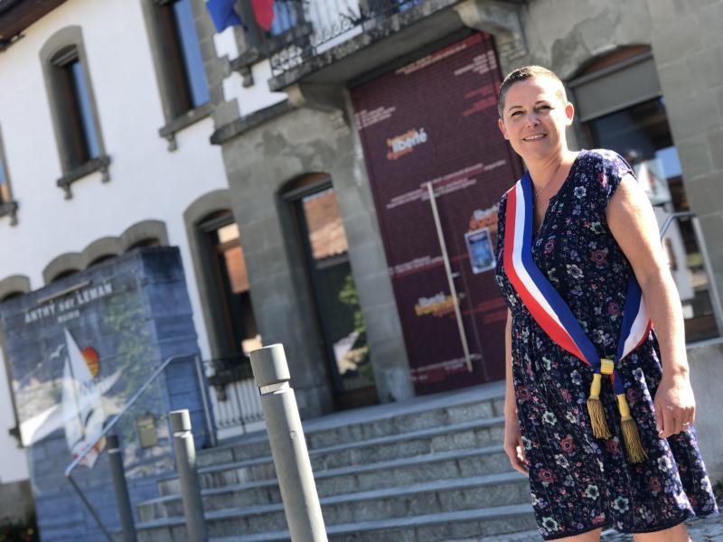 Isabelle Asni-Duchêne est la nouvelle maire d'Anthy-sur-Léman.